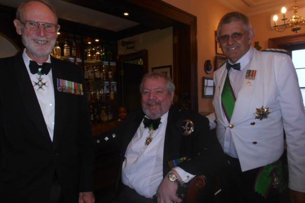 Cmd Mac Bisset and The Chevalier Micheil Armstrong_ and The Chevalier Johan Louw