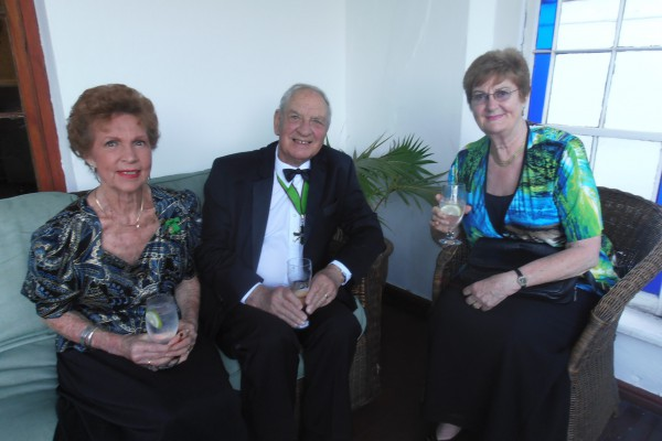 Dame Heather Pennicott and The Chevalier Ron Pennicott and Dame Iris Fair